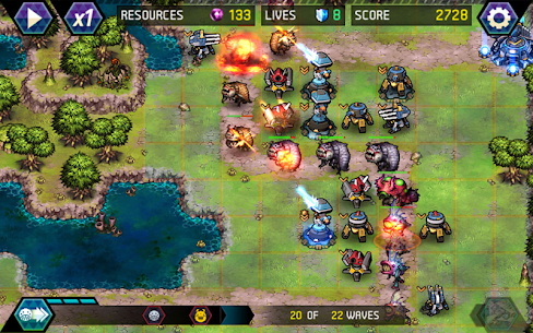 Tower Defense: Infinite War Mod Apk (Unlimited Money) 9