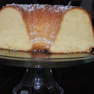 Grandma's Sour Cream Pound Cake.