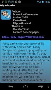 Tacky Tongue: actor skill- screenshot thumbnail
