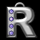 Bling-bling R-monogram