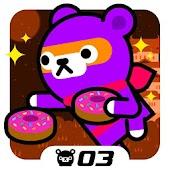 Tappi Bear - Donut Ninja