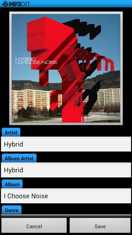 MP3dit - Music Tag Editor- screenshot