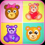 Kids Matching Games–Teddy Bear