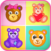 Kids Matching Games–Teddy Bear