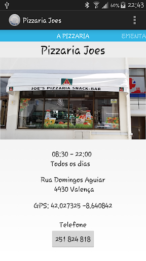 Pizzaria Joes