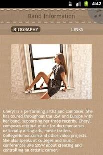 Cheryl B. Engelhardt - screenshot thumbnail