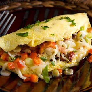 Cajun Omelette.