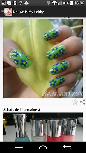 【免費生活App】Nail Art is My Hobby-APP點子