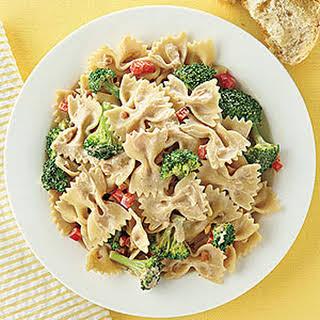 Peanut-Broccoli Pasta.