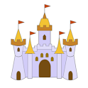 Castle Draw Color icon