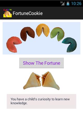 Fortune Cookie App