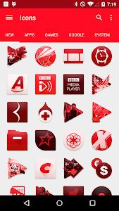 RED. Icon Pack v1.2