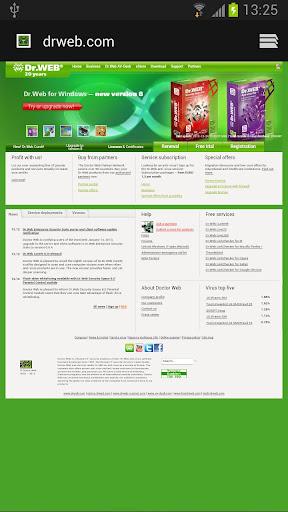Dr.Web Launcher beta