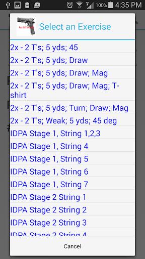 Dry Fire Par Time Tracker 1.96 screenshots 5