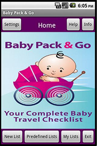 Baby Pack & Go - Travel To Do - screenshot