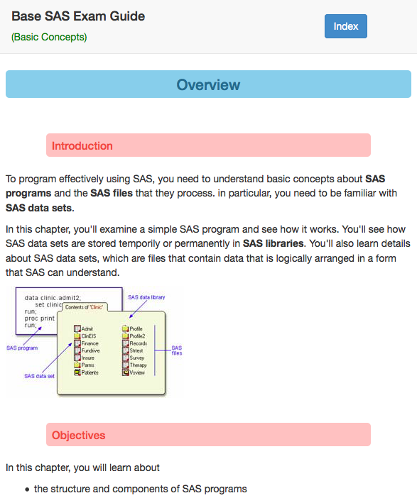 Base SAS Exam Guide- screenshot