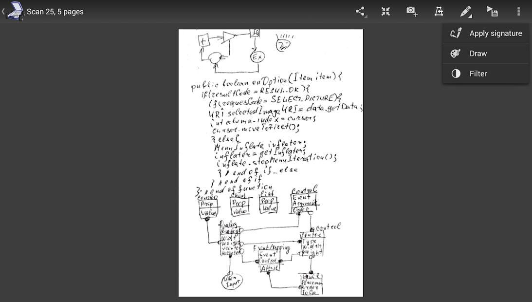 Mobile Doc Scanner (MDScan) + OCR Mod
