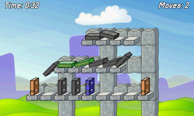 Domino Run Lite - screenshot