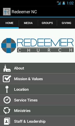 The Redeemer Church App