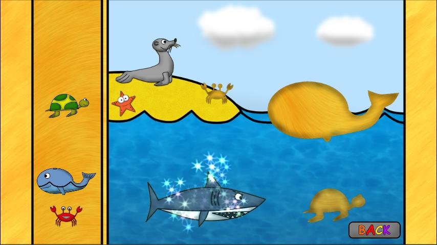 Animal Games for Kids: Puzzles - screenshot