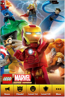 Lego Marvel Supeheroes Guide 娛樂 App-癮科技App