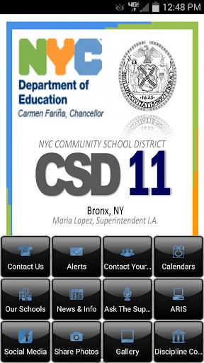 NYC CSD 11