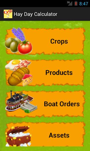 Farm Game Calculator