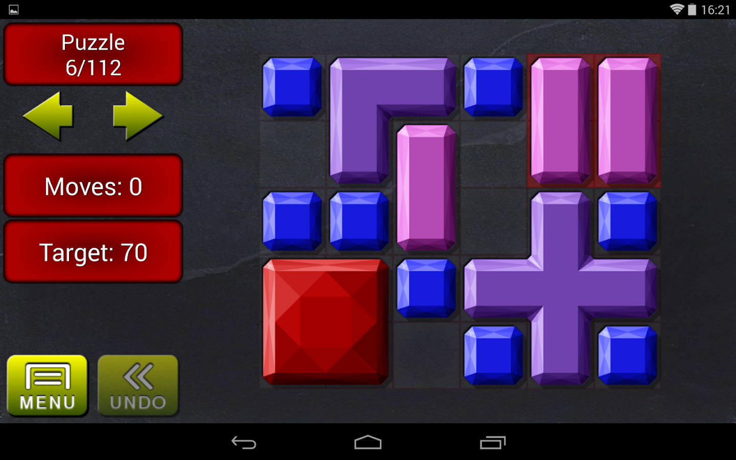 Move it!  Block Sliding Puzzle- screenshot