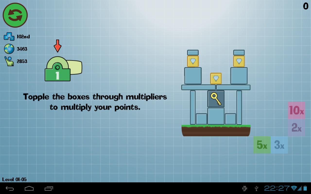 Box Topple - Knockdown! screenshot #12