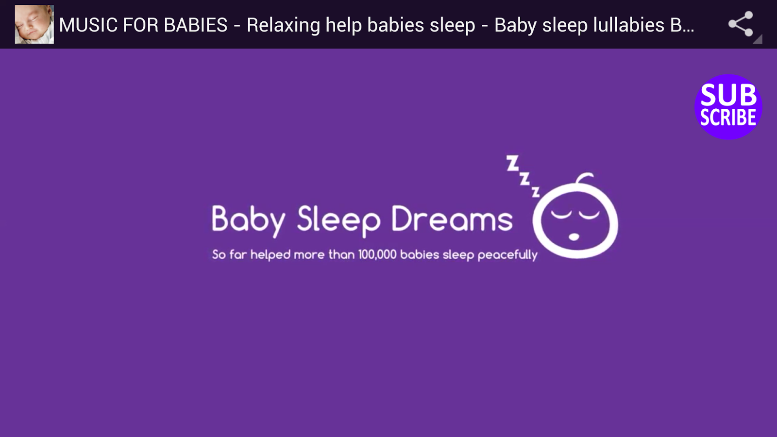Relaxing Baby Sounds - screenshot