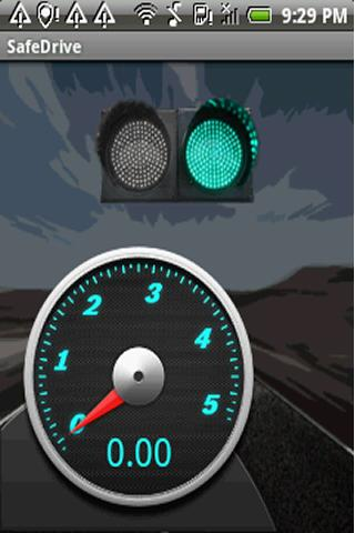 SafeDrive - screenshot
