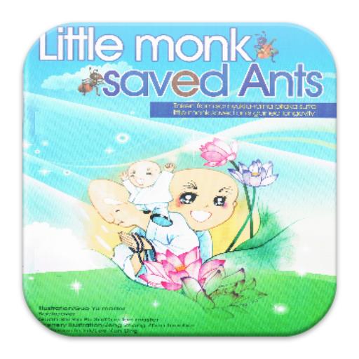 Little Monk Saved Ants 沙彌救蟻 教育 LOGO-玩APPs