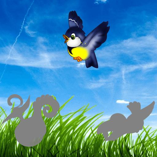 鳥幼児パズル 個人化 LOGO-玩APPs