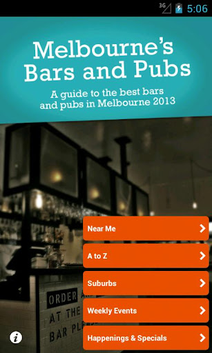 Melbourne's Bars and Pubs 2013