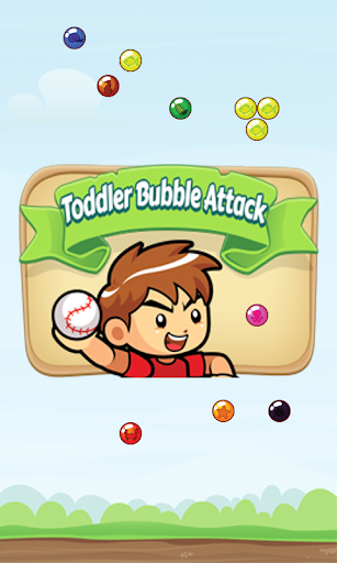 Toddler Bubble Attack