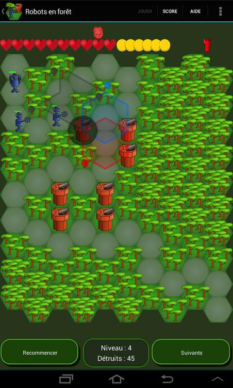 Robots in the forest (TD)- screenshot