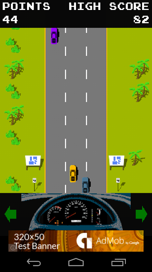 Retro Sprint Racer- screenshot