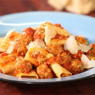 Veal Meatballs with Rigatoni Recipe