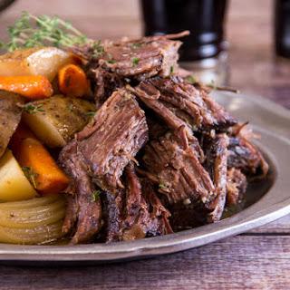 Beef Pot Roast.