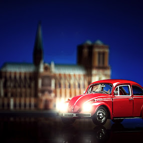 Red VW  by Irwan Kairuman - Artistic Objects Still Life ( vw, diecast, still life, automobile )