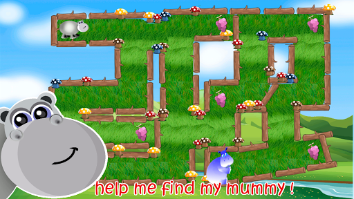 Jungle Kids Maze for toddlers