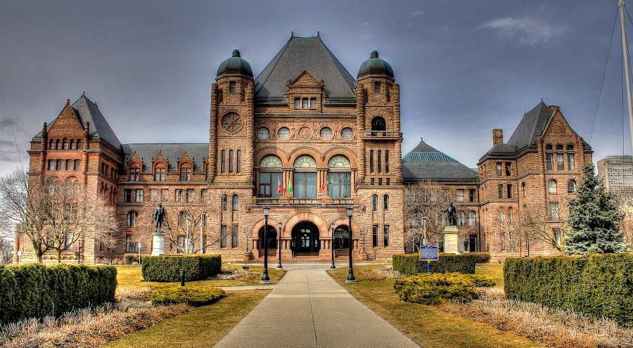 Ontario Legislative Building by Alberto Molinari - Buildings & Architecture Public & Historical ( villes, rencontres, continents, découvertes curiosités, personnes, marchés,  )