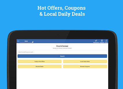 Coupons & Deals - DealsCorner- screenshot thumbnail