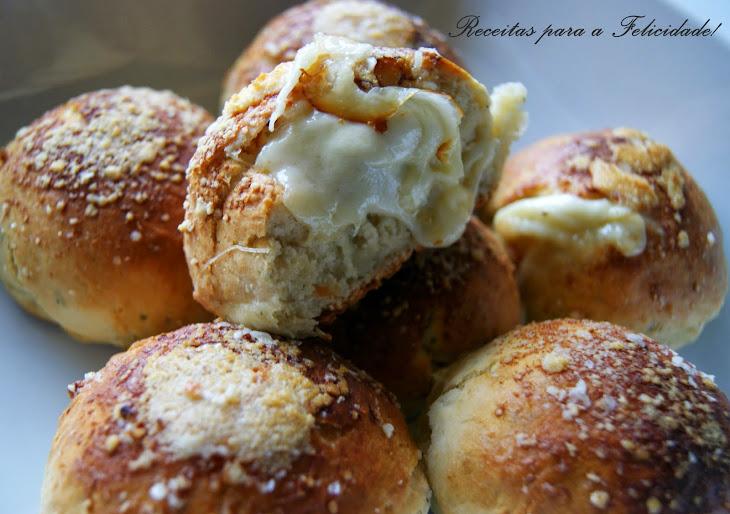 Cheese and Garlic Bread Rolls Recipe