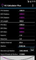 Screenshot of VC Calculator Plus