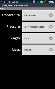 Density Altitude Calculator Android Apps On Google Play - Altitude calculator