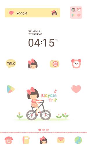 수니 bicycle trip 도돌런처 테마