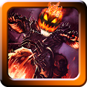 Halloween Bike rider game icon