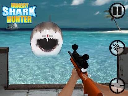 玩動作App|饥饿的鲨鱼猎人 - 3D游戏免費|APP試玩