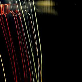 WATERFALL OF LIGHT by Nitish Chandela - Abstract Light Painting ( #lights #waterfalloflights #myfavroye #votenow # light #amazes )